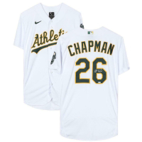 Matt Chapman Signed Athletics Jersey (Fanatics Hologram) at PristineAuction.com