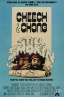 "Cheech Marin & Tommy Chong Signed ""Still Smokin"" 12x18 Photo Inscribed ""18"" (Beckett COA) at PristineAuction.com"