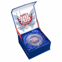Alexander Ovechkin 700th Goal Crystal Puck Game-Used Ice Crystal Puck at PristineAuction.com