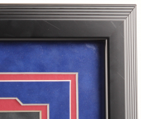 "Kris Bryant Signed Cubs 26.75x 30.5 Custom Framed Photo Display Inscribed ""2015 NL ROY"" (Fanatics Hologram) at PristineAuction.com"