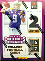 2020 Panini Contenders Draft Picks Football Blaster Box with 7 Packs at PristineAuction.com