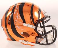 A.J. Green Signed Bengals Chrome Speed Mini-Helmet (Beckett COA) at PristineAuction.com