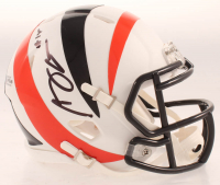 A.J. Green Signed Bengals AMP Alternate Speed Mini-Helmet (Beckett COA) at PristineAuction.com