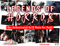 """Legends Of Horror"" 8x10 Photo Mystery Box - (1) Authentic Signed 8""x10"" PER PACK at PristineAuction.com"