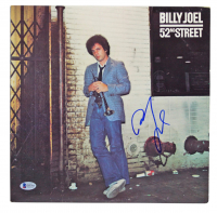 "Billy Joel Signed ""52nd Street"" Vinyl Record Album Cover (Beckett COA) at PristineAuction.com"