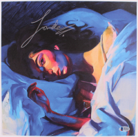 "Lorde Signed ""Melodrama"" 12x12 Photo (Beckett COA) at PristineAuction.com"
