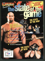 Bill Goldberg Signed 1998 The State of the Game Magazine (PSA COA) at PristineAuction.com