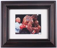 Mike Tyson Signed 16.5x19.5 Custom Framed Photo Display (JSA COA) at PristineAuction.com