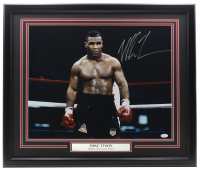Mike Tyson Signed 22x27 Custom Framed Photo Display (JSA COA) at PristineAuction.com