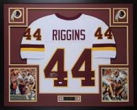 John Riggins Signed 35x43 Custom Framed Jersey (JSA COA) at PristineAuction.com