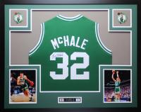 Kevin McHale Signed 35x43 Custom Framed Jersey (JSA COA) at PristineAuction.com