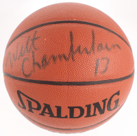 Wilt Chamberlain Signed NBA Basketball (Beckett LOA) at PristineAuction.com