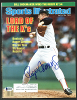 Roger Clemens Signed 1986 Sports Illustrated Magazine (Beckett COA) at PristineAuction.com