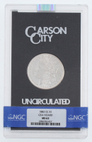 1882-CC Uncirculated Morgan Silver Dollar with GSA Holder (NGC MS62) at PristineAuction.com