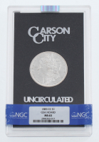 1883-CC Uncirculated Morgan Silver Dollar with GSA Holder (NGC MS63) at PristineAuction.com