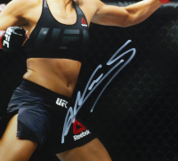 Amanda Nunes Signed 16x20 Custom Framed Photo (PSA COA) at PristineAuction.com