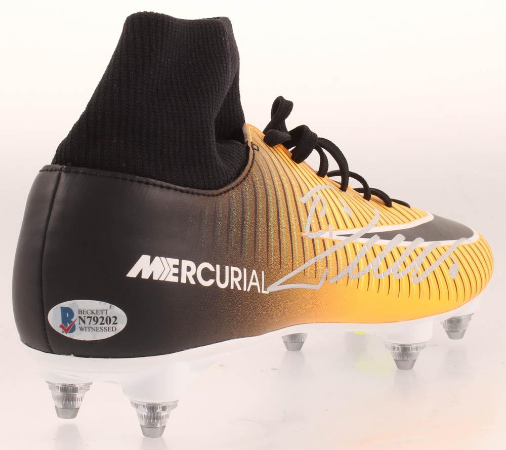 Cristiano Ronaldo Signed Nike Soccer Cleat Beckett Coa Pristine Auction