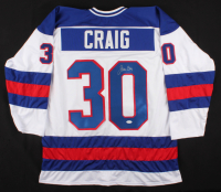Jim Craig Signed Jersey (JSA COA) at PristineAuction.com