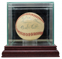 "Babe Ruth Signed OAL Baseball Inscribed ""From"" with High-Quality Display Case (PSA LOA) at PristineAuction.com"