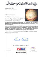 """Babe Ruth Signed OAL Baseball Inscribed """"From"""" with High-Quality Display Case (PSA LOA) at PristineAuction.com"""