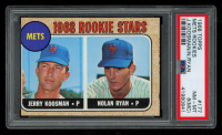 Jerry Koosman / Nolan Ryan 1968 Topps #177 Rookie Stars RC (PSA 8) (MC) at PristineAuction.com