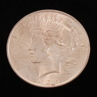 1922 Silver Peace Dollar at PristineAuction.com