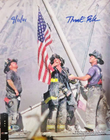 "Thomas E. Franklin Signed 11x14 Photo Inscribed ""9/11/01"" (Beckett COA) at PristineAuction.com"