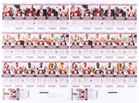 Lot of (2) 2011-2012 Stanford Cardinal Season Ticket Sheets at PristineAuction.com