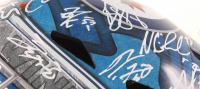 Jets Goalie Helmet Signed By (13) With Patrik Laine, Blake Wheeler, Mark Scheifele, Dustin Byfuglien (JSA COA) at PristineAuction.com