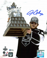 Jonathan Quick Signed Kings 8x10 Photo (Beckett COA) at PristineAuction.com