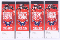Lot of (4) 2011-2012 Building America's Hockey Capital Season Ticket Booklets at PristineAuction.com
