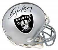 Bo Jackson Signed Raiders Mini Helmet (GTSM Hologram) at PristineAuction.com