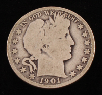 1901-S Barber Silver Half Dollar at PristineAuction.com