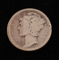 1921 Mercury Silver Dime at PristineAuction.com