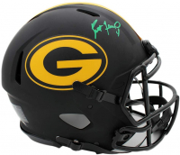 Brett Favre Signed Packers Full-Size Authentic On-Field Eclipse Alternate Speed Helmet (Radtke COA) at PristineAuction.com