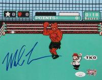 "Mike Tyson Signed ""Punch-Out!!"" 8x10 Photo (JSA COA & Tyson Hologram) at PristineAuction.com"