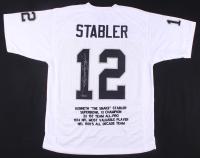 """Ken Stabler Signed Career Highlight Jersey Inscribed """"Snake"""" (Radtke COA) at PristineAuction.com"""
