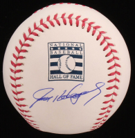 Ivan Rodriguez Signed OML Hall of Fame Logo Baseball (JSA COA) at PristineAuction.com