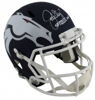 "John Elway Signed Broncos Full-Size AMP Alternate Speed Helmet Inscribed ""SB XXXIII MVP"" (Beckett COA) at PristineAuction.com"