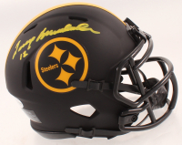 Terry Bradshaw Signed Steelers Eclipse Alternate Speed Mini Helmet (Beckett COA) at PristineAuction.com