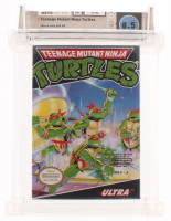 "1989 ""Teenage Mutant Ninja Turtles"" Nintendo Video Game (Wata Certified 8.5) at PristineAuction.com"