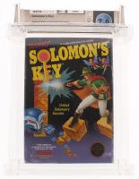 "1986 ""Solomon's Key"" Nintendo Video Game (Wata Certified 7.0) at PristineAuction.com"