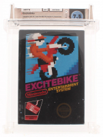 "1984 ""Excitebike"" Nintendo Video Game (Wata Certified 7.5) at PristineAuction.com"