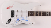 "Neal Schon, Jonathan Cain & Ross Valory Signed Journey 39"" Electric Guitar (Beckett LOA) at PristineAuction.com"