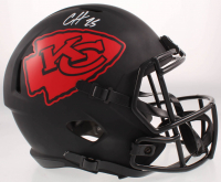 Clyde Edwards-Helaire Signed Chiefs Eclipse Alternate Full-Size Speed Helmet (Beckett COA) at PristineAuction.com