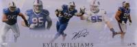Kyle Williams Signed Bills LE 10x28 Photo (JSA COA) at PristineAuction.com