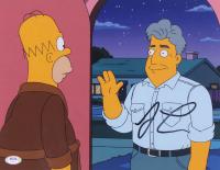 "Jay Leno Signed ""The Simpsons"" 11x14 Photo (JSA COA) at PristineAuction.com"