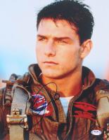 "Tom Cruise Signed ""Top Gun"" 11x14 Photo (PSA Hologram) at PristineAuction.com"
