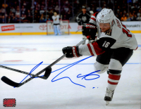 Max Domi Signed Coyotes 8x10 Photo (Your Sports Memorabilia Store COA) at PristineAuction.com