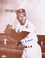 Hank Aaron Signed Braves 11x14 Photo (PSA COA) at PristineAuction.com